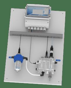 Panneau TEREO Touch XL pour la régulation du pH et chlore despiscines collectives