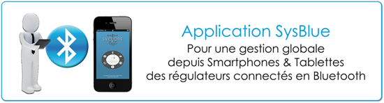 application sysblue piscine connectée