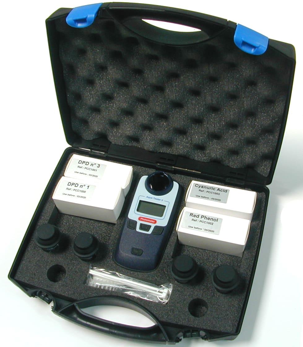 PCC0003 photomètre 3 paramètres pour l'analyse de l'eau