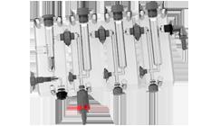 chambre de mesure modulaire transparente PMMA syclope