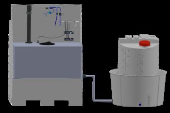 Electrolyseur avec réservoir de 250 l