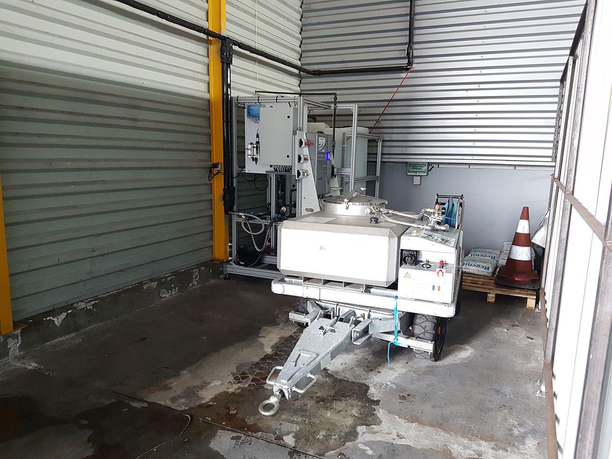 Unité de traitement d'eau aéroport de pau