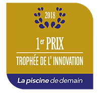 1er prix Trophée innovation Piscine de demain 2018
