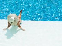 Private swimming pool water treatment