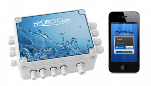 hydrocom for remote access private pools