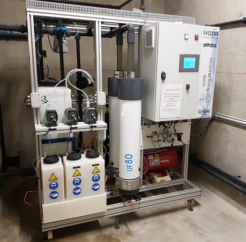 Système d'ultrafiltration du Stade Nautique de la Ville de Pau (64)