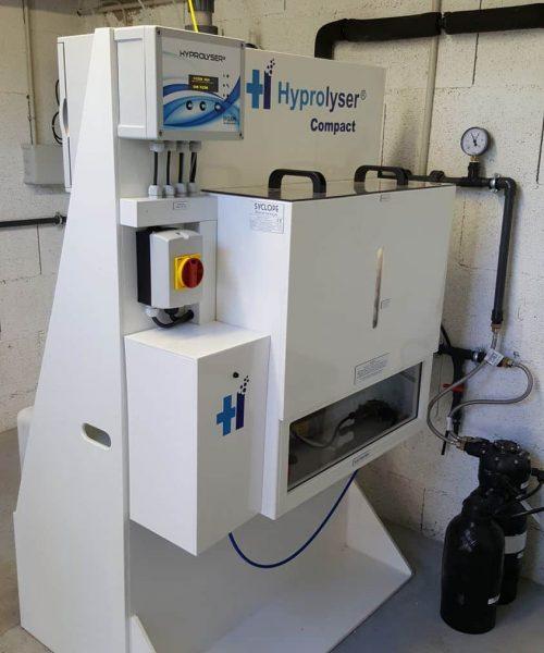 electrolyseur de sel pour production de chlore sur site