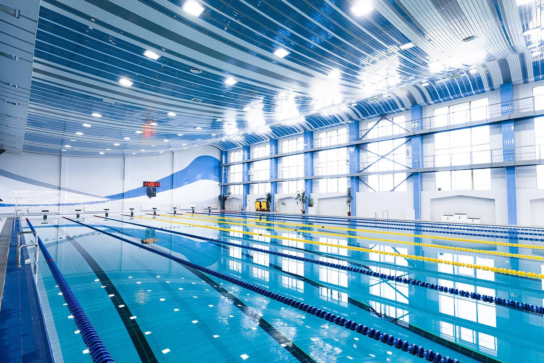 traitement de l'eau des piscines olympiques