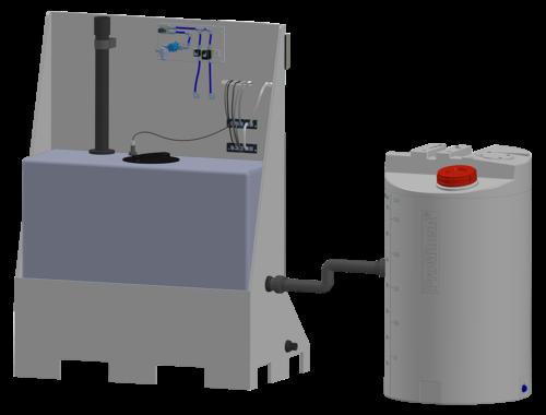 Electrolyseur SYCLOPE compact avec réservoir externe