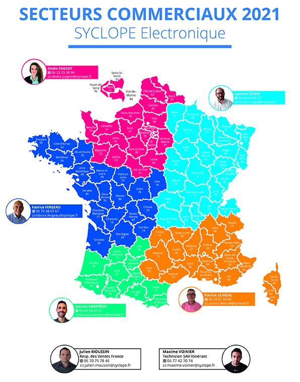 Secteur commercial France SYCLOPE 2021